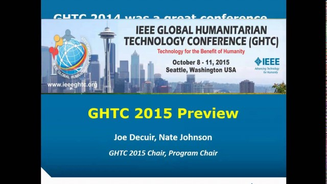 GHTC 2015 Preview test