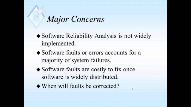 Software Reliability Analysis June2014